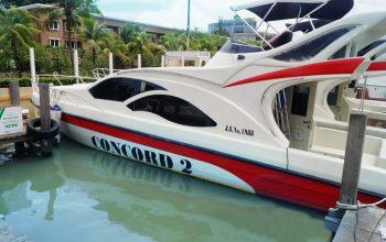 Berlayar ke Pulau Seribu dengan KM CONCORD